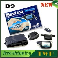 Wholesale Russian Version Two Way Starline Car Alarm Security System Starline B9 With Remote Wholesales