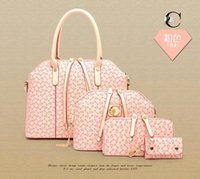 rhinestone handbags - Fashion Colors Pieces Shoulder Bags Totes and Clutch OL Women Bags PU Leather Messenger Bag Designer Handbags MYF0730