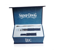 Cheap snoop dogg starter e cig herbal vaporizer pen kit kits g electronic cigarette snoop dogg dry herb vaporizer smoking pipe vapor free shipping