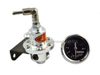 Wholesale Racing Fuel Pressure Regulator universal fitment Adjustable siliver sard have stocked and ready to ship