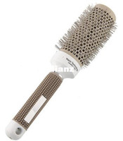 Wholesale 45mm Ceramic Iron Round Comb Barber Tool Styling Brush Barrel Roll