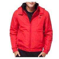 Wholesale Original LINING men s Cotton Jacket AJMF037 Hoodie Sportswear