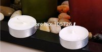 art colored stones - full set candle holder including flame wax candle plate glass cup stone for home decoration wedding birthday gift using