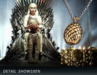 dragon - high quality games GAME OF THRONE rights Game of Thrones dragon egg necklace