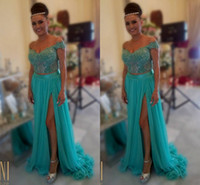 arab strap picture - 2015 Sheer Neck Lace Arab Prom Dresses A line Chiffon Two Pieces Prom Gowns Sexy Evening Dresses P142