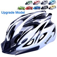 Wholesale Upgrade Model Colors Ultralight Cycling Helmet Breathable Bicycle Helmet Women Men Integrally molded Bike Helmet Visor
