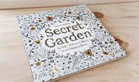 Wholesale HOT Decompression Artifact Secret Garden An Inky Treasure Hunt and Coloring Book Secret Garden Coloring Book