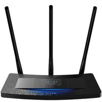 Wholesale TP LINK TL WR2041 M three antenna touch screen wireless router power through walls smart wifi Routers