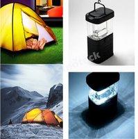 LED Flashlight barn light - 2588 Mini Portable Lantern hand held Barn Fishing Lamp Camping Tent Bivouac Hook Cheap LED outdoor lighting Travel Light DHL Factory