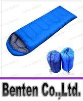 Wholesale llfa388 New Scoop Sleeping Bag Envelope Sleeping Bag for Three Seasons cm kg T Waterproof Polyester cloth