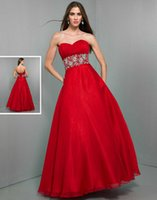 Cheap 2015 Chiffon Crystals Sash WOW Prom Evening Dress 6026 A Line Sweetheart Sequins Beading Lace Up Floor Length Winter Formal Celebrity Gowns