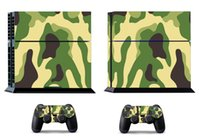 Cheap Camouflage 271 Vinly Skin Sticker Protector for Sony PS4 PlayStation 4 and 2 controller skins Stickers Free Shipping