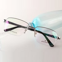 Wholesale Fashion glasses frame Memory Pure titanium male glasses frame