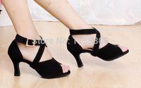 Wholesale Ballroom Latin Salsa Tango Dance Shoes wear Heel