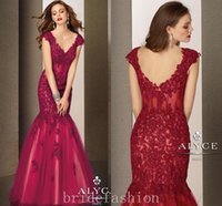 Cheap 2015 Red Celebrity Party Prom Evening Dresses Sleeves Christina Zuhair Murad Style Fashion Custom Made