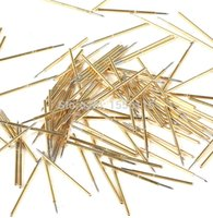 adapt test - 100pcs bag Test Probes Adapt to the Leader Pin PCB board Copper Test Probes High Quality