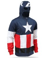 america mail - The new package mail The Avengers Hoodies Sweatshirts Captain America fleece Captain America Captain America hoodie