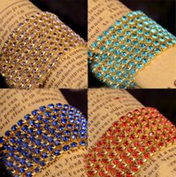 Wholesale 1meter mm Color claw chain crystal gold at the end encryption type intensive catch decorative accessories chain diy drill