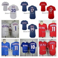Unisex texas rangers - 2016 New Texas Rangers Baseball Jersey Shirt Michael Young Jerseys Elvis Andrus Yu Darvish Nelson Cruz Naftali Feliz