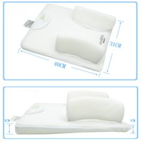 Wholesale On Sale New High Quality sleeping baby sleeping pad pillow anti turning anti spits pillow bed
