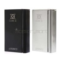 Wholesale 100 Authentic Smok X Cube II w box mod Xcube temperature control smok x cube II mod VS M80 plus IPV3 Li IPV4