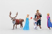 Wholesale Frozen Figure Toy Princess Elsa and Anna Queen Action Figure Doll Retail