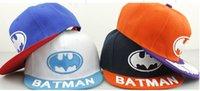 batman hats for sale - 2016 hot sale styles batman cartoon boy baseball cap children adjustable sun hats for boy girls sports snapback hat kids caps cm TX