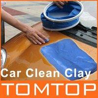 Cheap [Unbeatable At $X.99] 5Pcs Lot Magic Car Clean Clay Bar Auto Detailing Cleaner free shipping dropshipping Wholesale