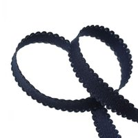 imported fabric - Beijia Korean Imported Cotton Fabric Ribbon Handmade DIY Sewing Tape Navy mm Yards Approx M