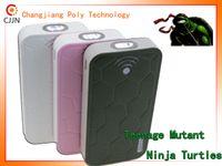 Wholesale NEW SALE huge capacity power bank Teenage Mutant Ninja Turtles CJ mAh portable battery charger external for all phones or pads