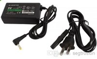 Wholesale Replacement PSP charger Desk top Charger AC Adapter Power Supply Cord for Sony PSP Slim