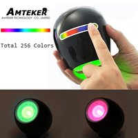 ambience lighting - New Touching Switch Color Bar Design Colors Light Lamp Atmosphere Light with Built in Battery Desk Lamp Ambience Light