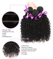 al por mayor rosa pelo rizado peruano-Peruvian Virgin Hair Deep Curly Rosa Reina Productos para el cabello 7A Peruvian Deep Wave 100g Tejido de pelo humano Bundles Peruvian Curly Hair