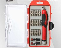 Wholesale 18 in set V electric screwdriver hand drill cordless screwdriver multi function screwdriver