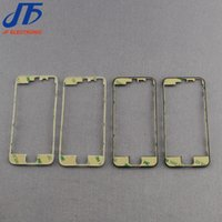 Wholesale 100pcs For iPhone g c s LCD Frame LCD Holder Middle Bezel Digitizer Frame With m Adhesive hot glue