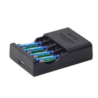 1.5v battery charger - Kentli AA Li Batteries V mAh Capacity Rechargeable Lithium Batteries with Chargers USB Sockets Design for Sale