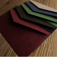 Wholesale 10PCS cm Creative Vintage Western Style Envelopes for Top Bussiness Invitations Decor Wedding Invitations Paper envelope g