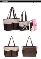 Wholesale 2016 Hot Sell Multi Microfiber Function Large Baby Tote Shoulder Handbag Diaper Bag Nappy Bag Fashion Mummy Mother Bag