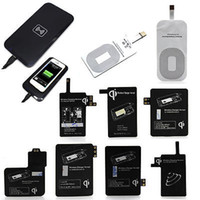 Wholesale 2015 QI Wireless Charger Charging Pad Receiver for Samsung Galaxy note note s3 s4 s5 Wireless Charging Module Receiver Adapter