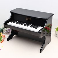 Wholesale Best Key Musical Instrument Educational Toys Mini Piano Wooden order lt no track