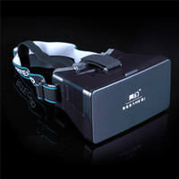 Wholesale Google Cardboard Virtual Reality VR Mobile Phone D Glasses D Movies Games With Resin Lens For to Smartphone
