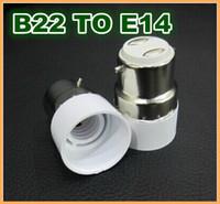 bayonet bulb fitting - 10pcs B22 Bayonet to E14 Mini LED Lamp Fitting Adapter Light Bulb Socket Changer