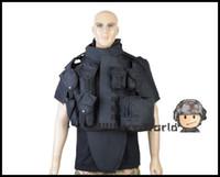 airsoft vest tan - Airsoft Vest OTV Body Armor Carrier Tactical Vest Military Combat Ver5 CS Camouflage Vest Black Tan