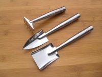 Wholesale High quality stainless steel Set Mini Garden Tools Small Shovel Rake Spade Kids Tool
