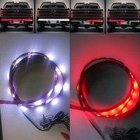 Wholesale 49 quot Trunk Tailgate Red White LED Light Bar For Reverse Brake Turn Signal Tail