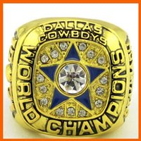 Cheap Bottom Price for 1971 Super Bowl Replica Dallas Cowboys Championship Ring for Fans