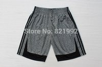 Wholesale Cheap From China Forever Hottest Sale Static Fashion Men s Grey Color Stitched Basketball Shorts