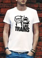 asdf movie - I LIKE TRAINS TRAIN ASDFMOVIE ASDF T SHIRT MOVIE MUSIC FUNNY Logo Print ROCK YouTube TEE TOP Video T shirt