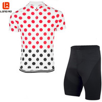 bicycle clothing manufacturers - Manufacturers design Newest Long Ao men Bicycle Cycling Jersey Short Sleeve Cycling Clothing Bib Shorts Set Colors Fluor