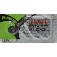 Wholesale Maxell SR721SW Silver Oxide Button Cell mAh Capacity Watch Battery